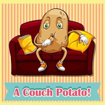 Patate de pommes de terre