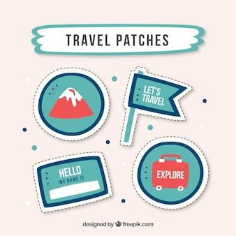 Patches de voyage