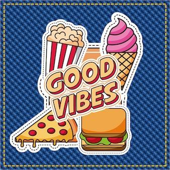 Patchs bonnes vibrations