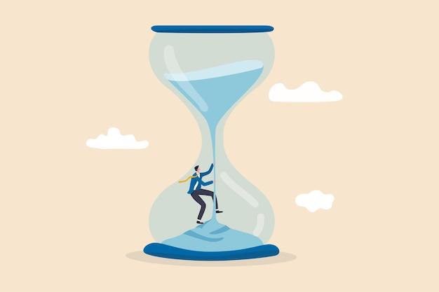 Patience de gestion du temps pour réussir