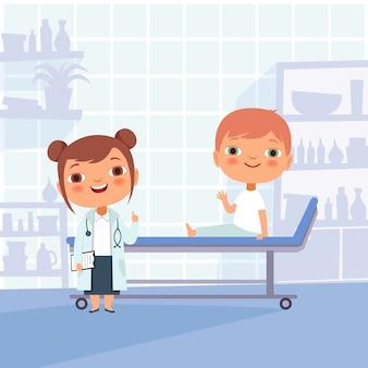 Patient sur rendez-vous chez le médecin