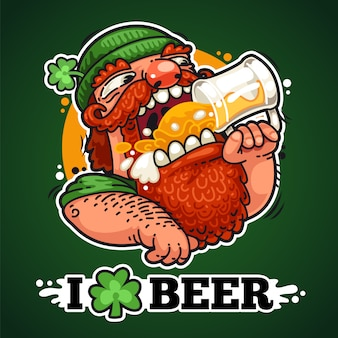 Patrick à la bière