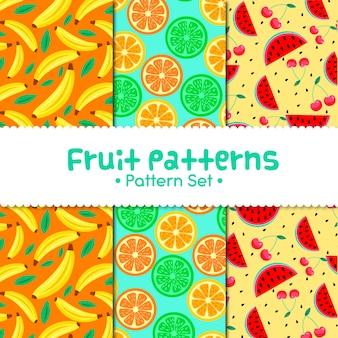 Patrons de fruits