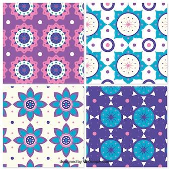Patterns ensemble de formes géométriques