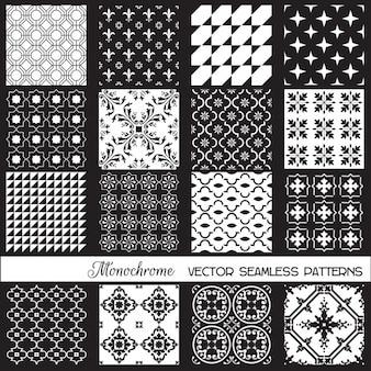 Patterns monochromes