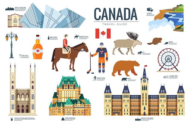 Pays canada voyage vacances de lieu et caractéristique