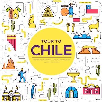 Pays chili guide des produits en ligne mince