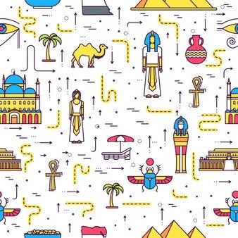Pays egypte guide de vacances de voyage des marchandises, des lieux.