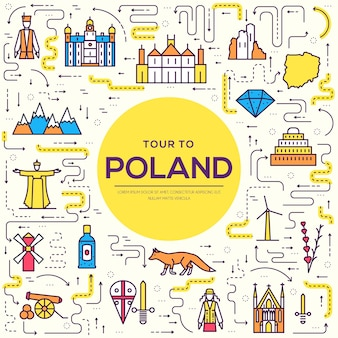Pays mince ligne pologne guide de vacances de voyage des produits, des lieux et des caractéristiques.