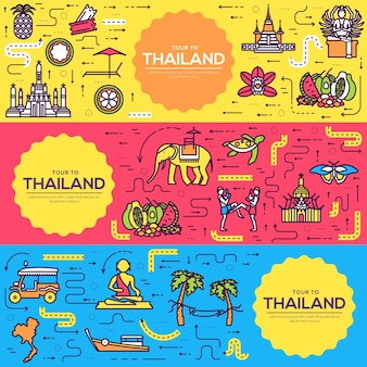 Pays thaïlande guide de vacances de voyage des produits, des lieux et des caractéristiques