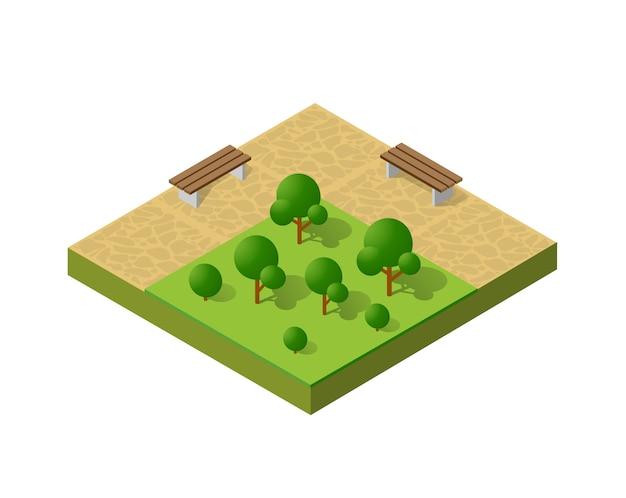 Paysage écologique naturel