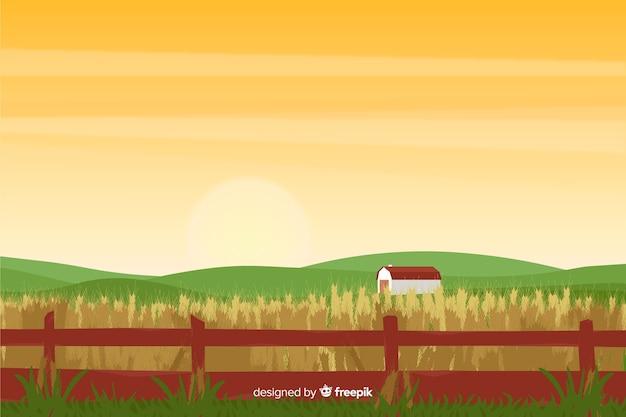 Paysage de ferme