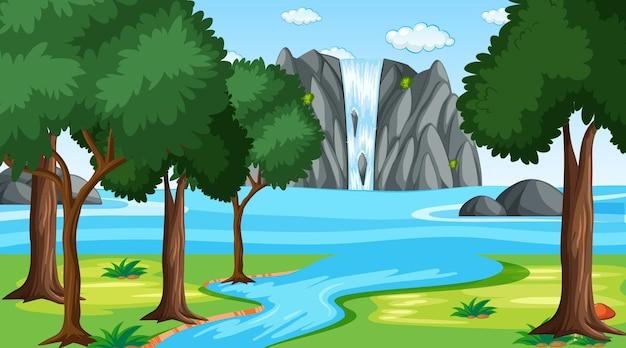 Paysage de parc naturel vierge à la scène de jour
