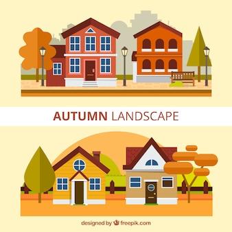 Paysages d'automne fantastiques