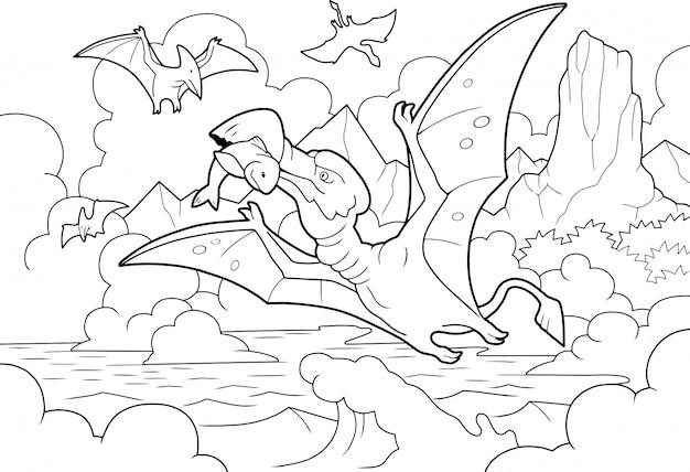 Pêche au ptérodactyle