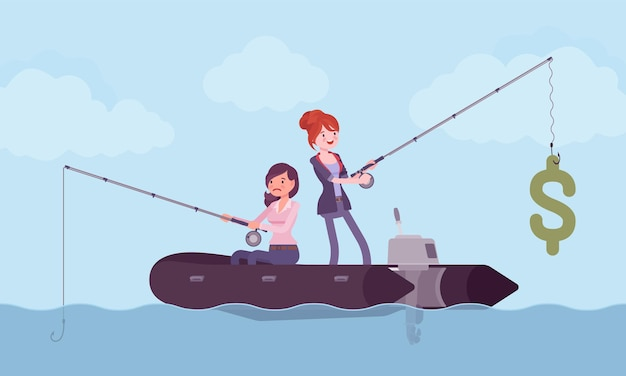 Pêche commerciale pour de l'argent