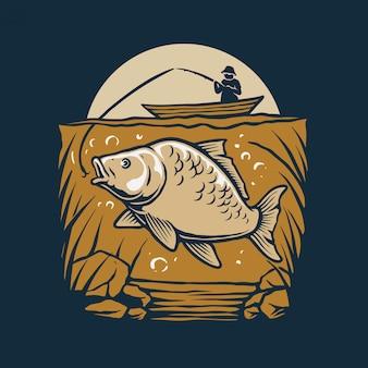 Pêche à l'extérieur