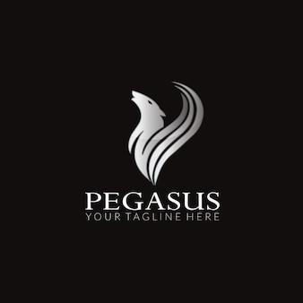 Pegasus vector logo design