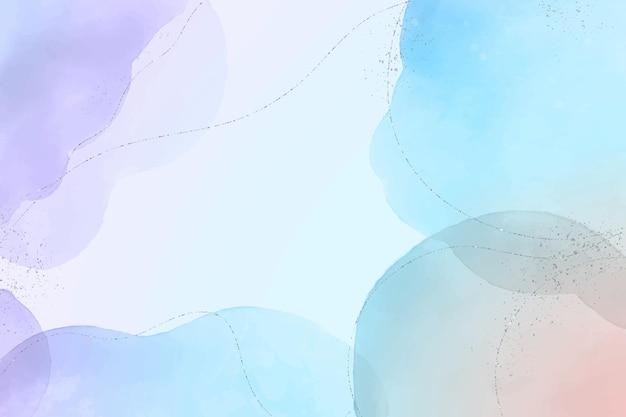 Peint à La Main Aquarelle Abstrait Aquarelle Vecteur gratuit