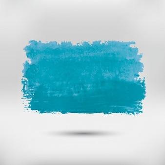 Peint à la main bleuissement