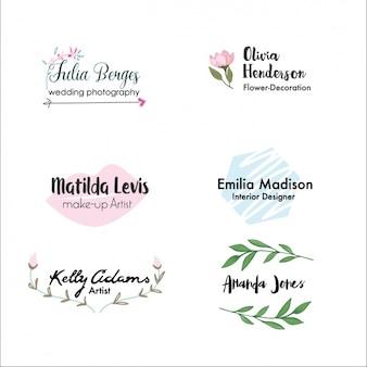 Peint à la main collection logo