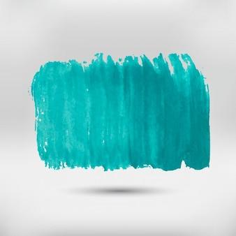 Peint à la main tache d'aquarelle