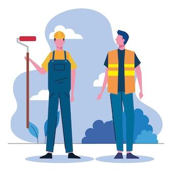 Peintre et constructeur