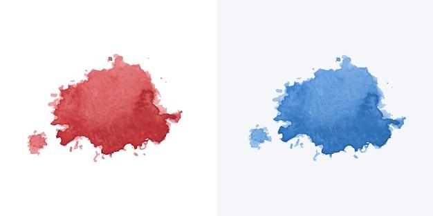 Peintre à la main couleurs aquarelle tache texture