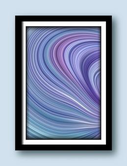 Peinture abstraite avec fond tendance pour fonds d'écran