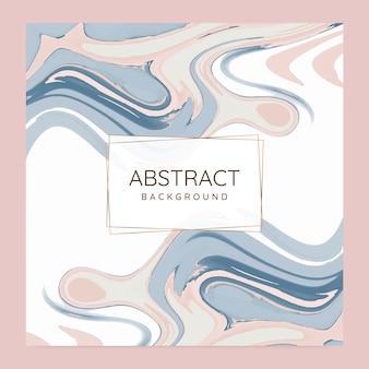 Peinture abstraite pour fond vecteur défini