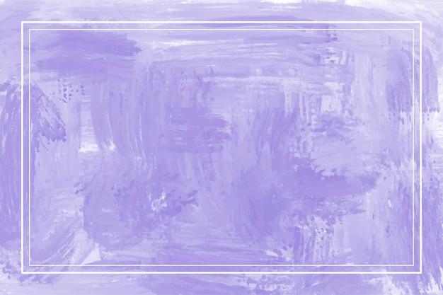 Peinture aquarelle abstrait violet