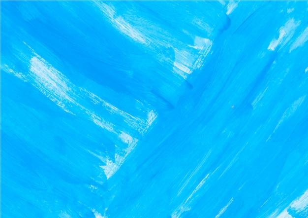 Peinture bleue