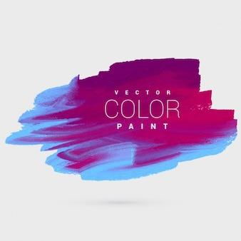 Peinture colorée d'encre conception de vecteur de modèle de fond