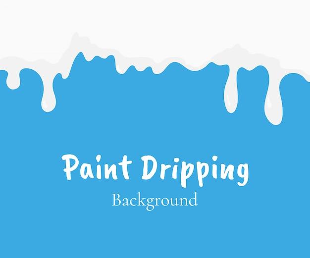 Peinture dégoulinant
