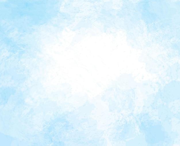 Peinture numérique de fond de tache aquarelle colorée abstraite peinte à la main