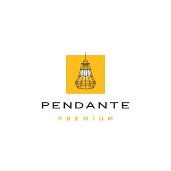 Pendentif industriel suspendu logo intérieur léger pendentif industriel suspendu logo intérieur léger