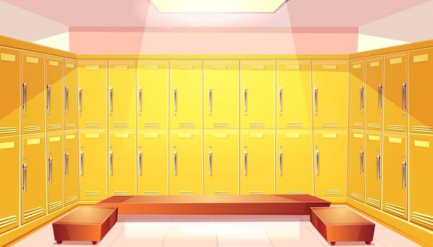 Penderie d'école