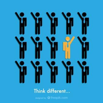 Penser conception des affaires différente