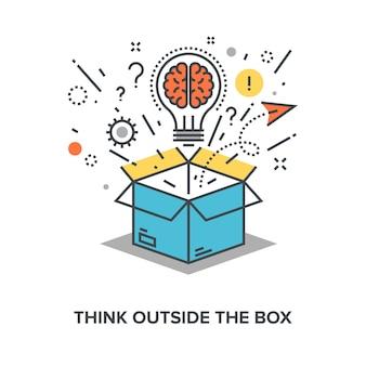 Penser en dehors de la boîte