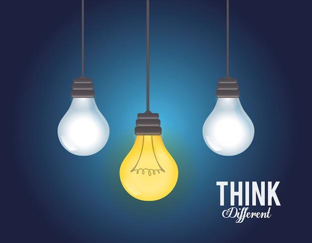 Pensez conception différente
