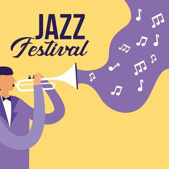 People festival jazz