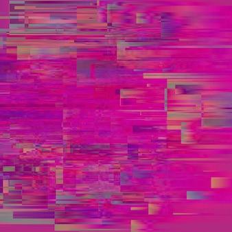 Pépin de vecteur. distorsion des données d'image numérique.