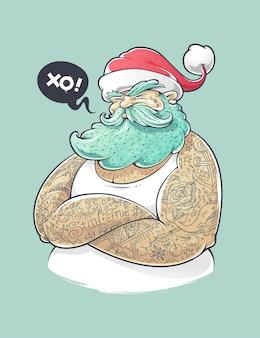 Père Noël moderne