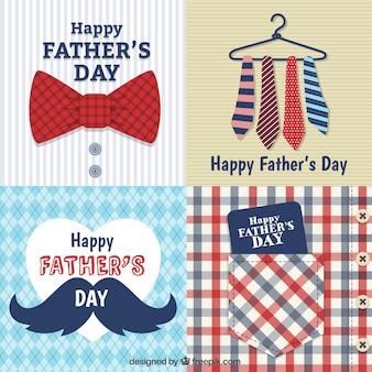 Pères cartes de jour