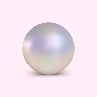 Perle élégante et réaliste