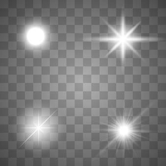 Perles d'or sur fond blanc. ensemble de perles en or et chaînes en or. illustration vectorielle