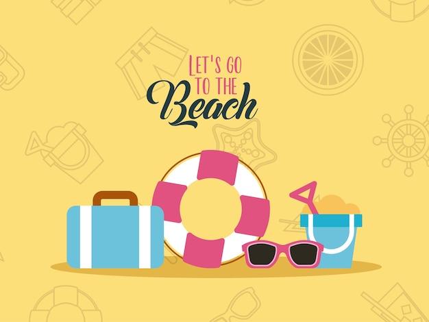 Permet d'aller à plat sur la plage