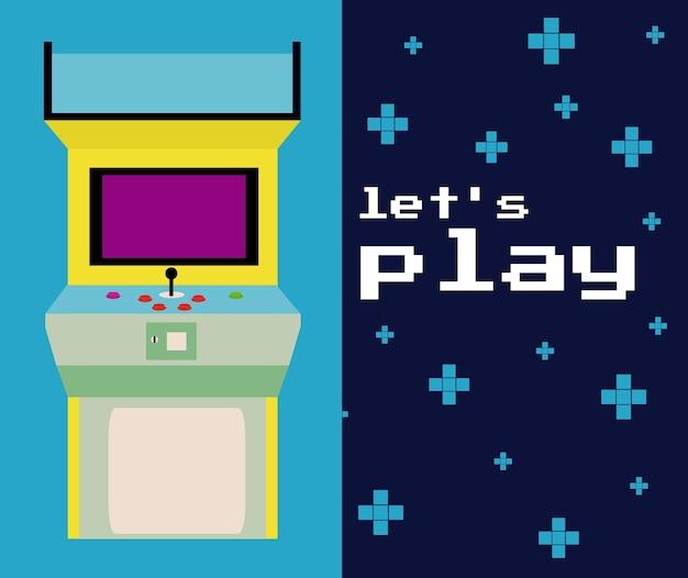 Permet de jouer arcade coloré