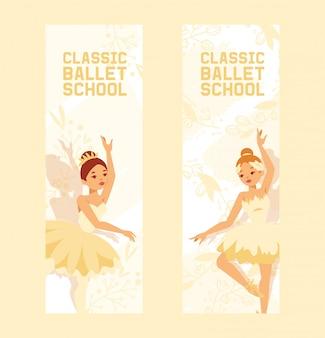 Personnage de ballerine danseuse
