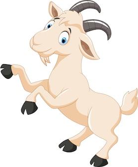 Personnage de chèvre
